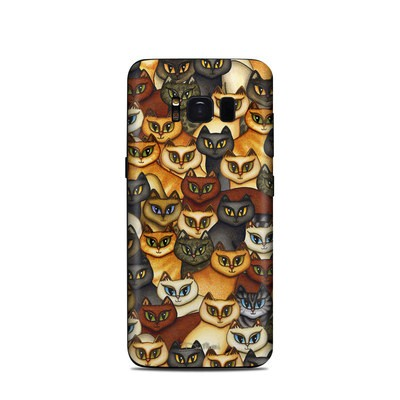 Samsung Galaxy S8 Skin - Stacked Cats