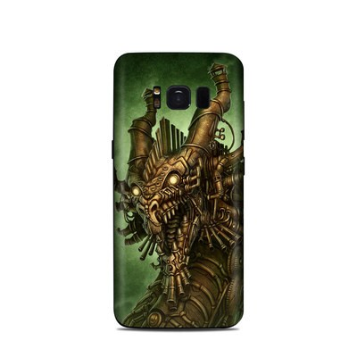 Samsung Galaxy S8 Skin - Steampunk Dragon