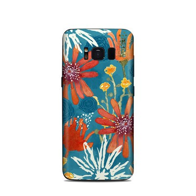 Samsung Galaxy S8 Skin - Sunbaked Blooms