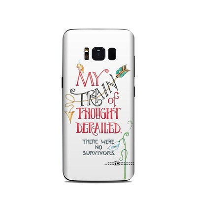 Samsung Galaxy S8 Skin - Train Derailed