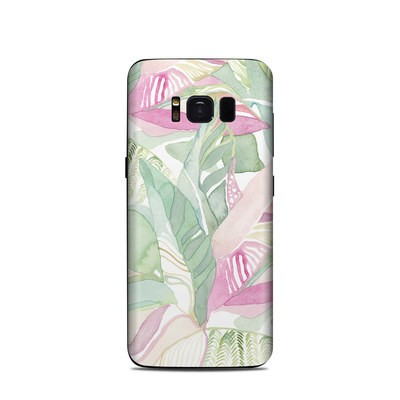 Samsung Galaxy S8 Skin - Tropical Leaves