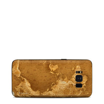 Samsung Galaxy S8 Skin - Upside Down Map