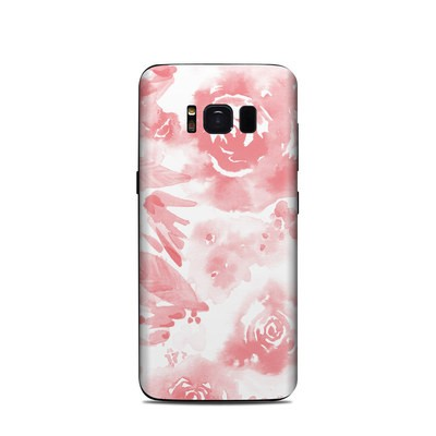 Samsung Galaxy S8 Skin - Washed Out Rose