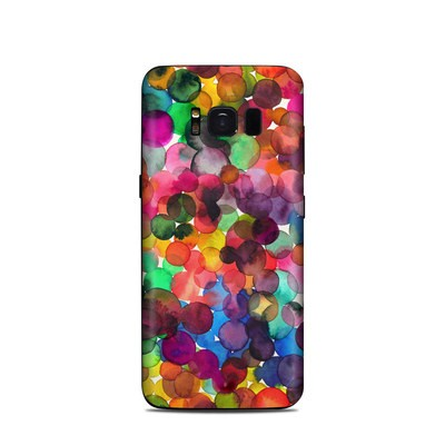 Samsung Galaxy S8 Skin - Watercolor Drops