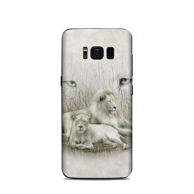 Samsung Galaxy S8 Skin - White Lion