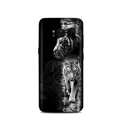 Samsung Galaxy S8 Skin - White Tiger