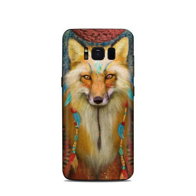 Samsung Galaxy S8 Skin - Wise Fox