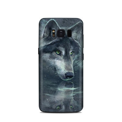 Samsung Galaxy S8 Skin - Wolf Reflection
