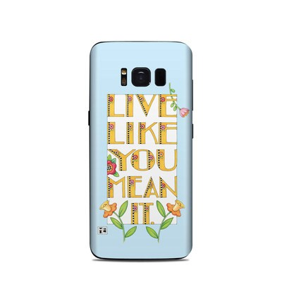 Samsung Galaxy S8 Skin - Mean It