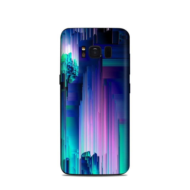 Samsung Galaxy S8 Skin - Glitch Trip