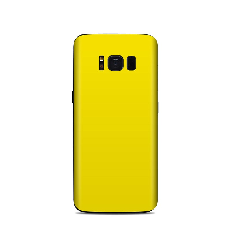 Samsung Galaxy S8 Skin Solid State Yellow By Solid