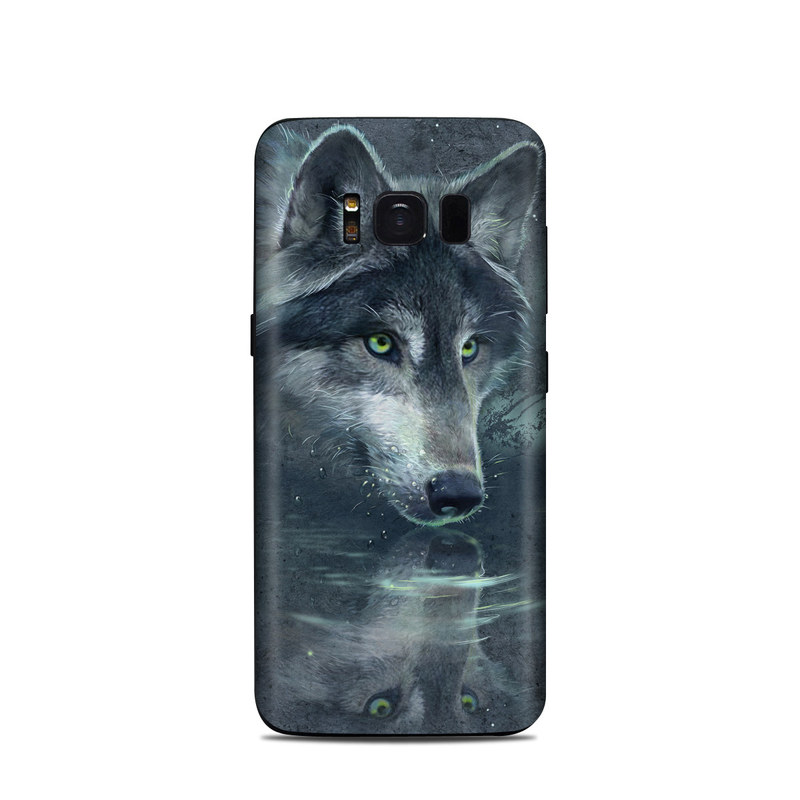 wolf samsung s8 phone case