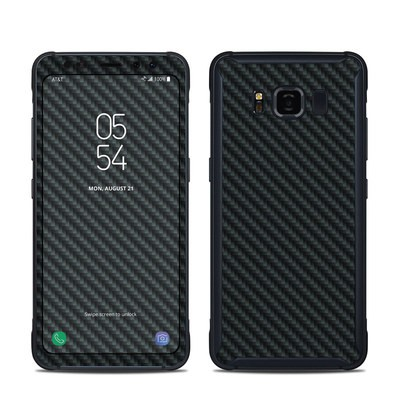 Samsung Galaxy S8 Active Skin - Carbon