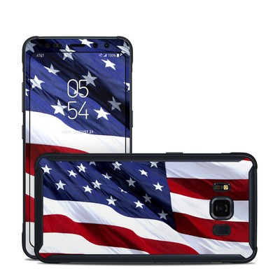 Samsung Galaxy S8 Active Skin - Patriotic