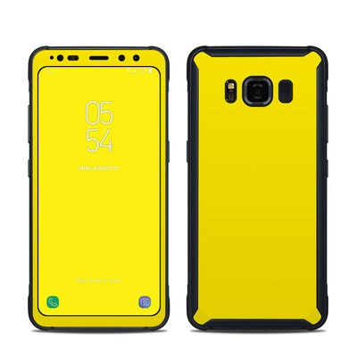 Samsung Galaxy S8 Active Skin - Solid State Yellow