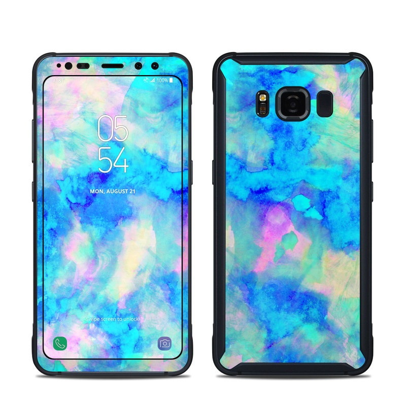 Samsung Galaxy S8 Active Skin Electrify Ice Blue By Amy