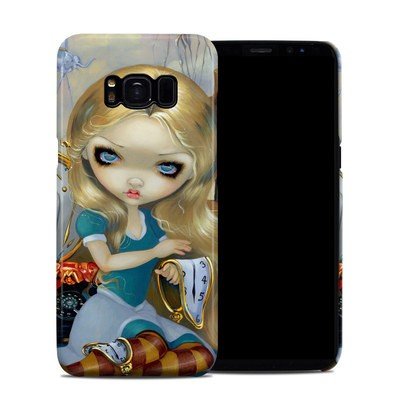 Samsung Galaxy S8 Clip Case - Alice in a Dali Dream