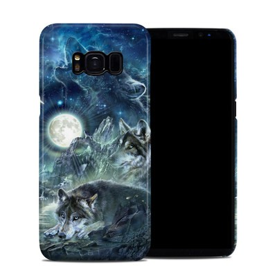 Samsung Galaxy S8 Clip Case - Bark At The Moon