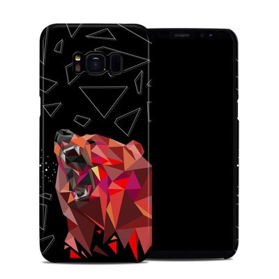 Samsung Galaxy S8 Clip Case - Bears Hate Math