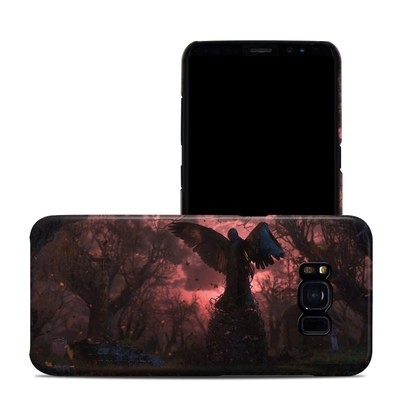Samsung Galaxy S8 Clip Case - Black Angel