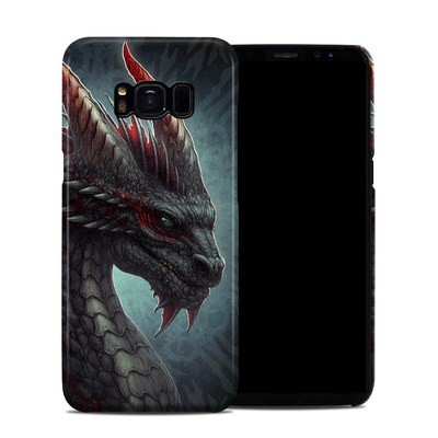 Samsung Galaxy S8 Clip Case - Black Dragon