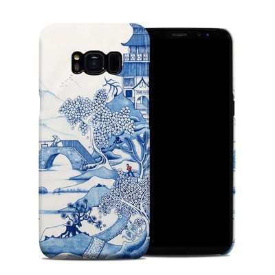 Samsung Galaxy S8 Clip Case - Blue Willow