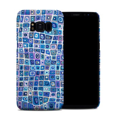 Samsung Galaxy S8 Clip Case - Blue Monday