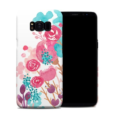 Samsung Galaxy S8 Clip Case - Blush Blossoms