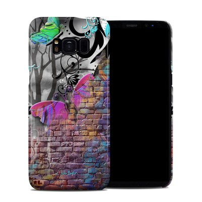 Samsung Galaxy S8 Clip Case - Butterfly Wall
