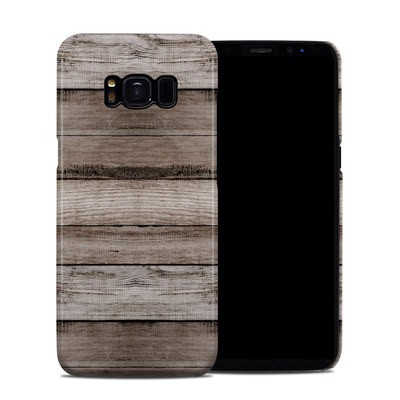 Samsung Galaxy S8 Clip Case - Barn Wood