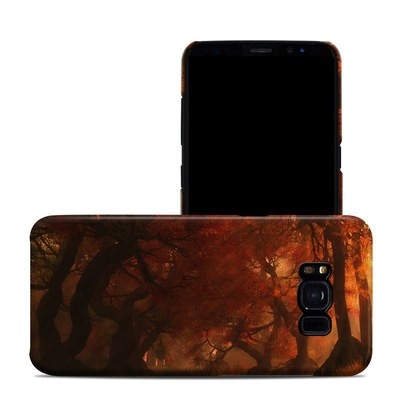 Samsung Galaxy S8 Clip Case - Canopy Creek Autumn