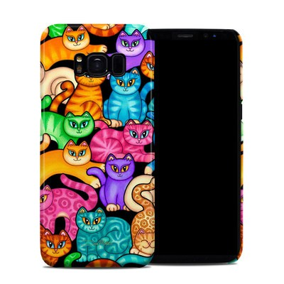 Samsung Galaxy S8 Clip Case - Colorful Kittens