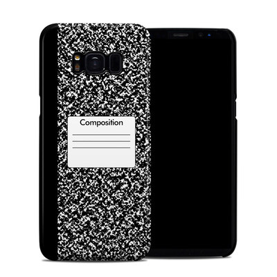 Samsung Galaxy S8 Clip Case - Composition Notebook