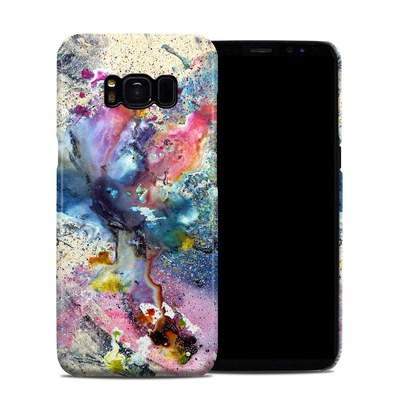 Samsung Galaxy S8 Clip Case - Cosmic Flower