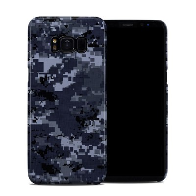 Samsung Galaxy S8 Clip Case - Digital Navy Camo