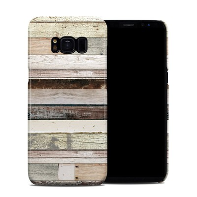 Samsung Galaxy S8 Clip Case - Eclectic Wood