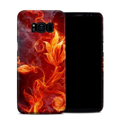Samsung Galaxy S8 Clip Case - Flower Of Fire