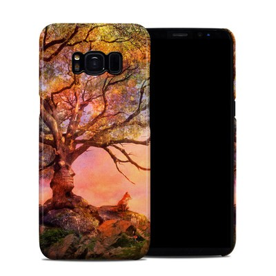 Samsung Galaxy S8 Clip Case - Fox Sunset