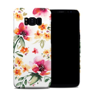 Samsung Galaxy S8 Clip Case - Fresh Flowers