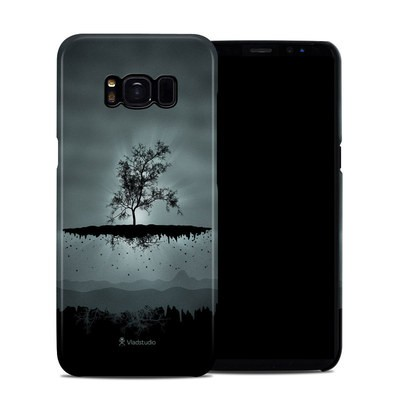 Samsung Galaxy S8 Clip Case - Flying Tree Black