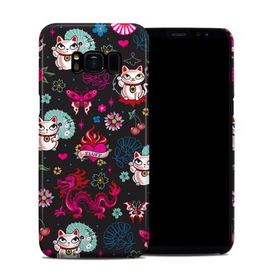Samsung Galaxy S8 Clip Case - Geisha Kitty