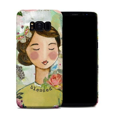 Samsung Galaxy S8 Clip Case - Grateful Soul