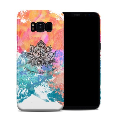 Samsung Galaxy S8 Clip Case - Happy Lotus