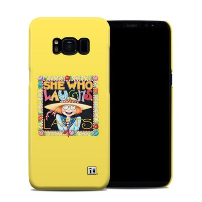 Samsung Galaxy S8 Clip Case - She Who Laughs