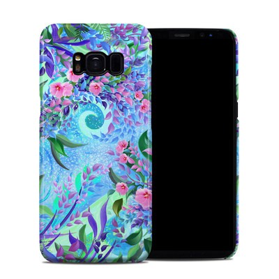 Samsung Galaxy S8 Clip Case - Lavender Flowers