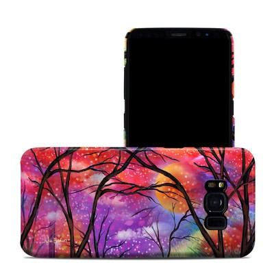 Samsung Galaxy S8 Clip Case - Moon Meadow
