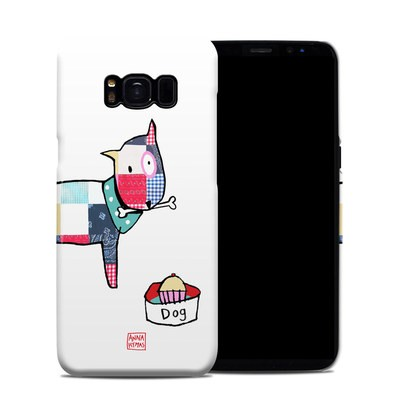 Samsung Galaxy S8 Clip Case - Patch Dog
