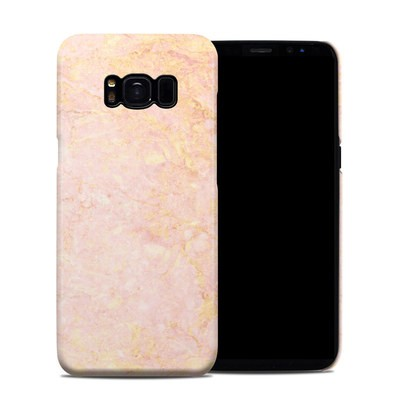 Samsung Galaxy S8 Clip Case - Rose Gold Marble