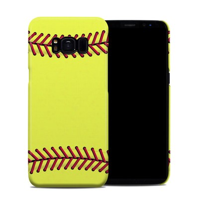 Samsung Galaxy S8 Clip Case - Softball