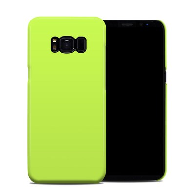 Samsung Galaxy S8 Clip Case - Solid State Lime